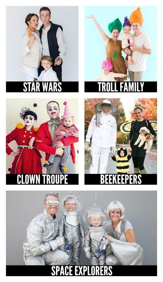 Family DIY Halloween Costumes