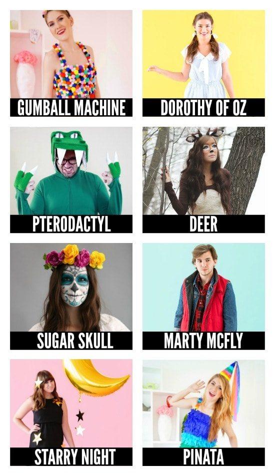 DIY Halloween Costumes for Individuals