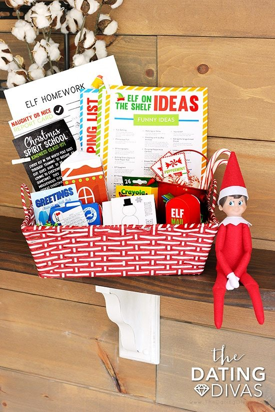 Elf on the Shelf Printables Kit