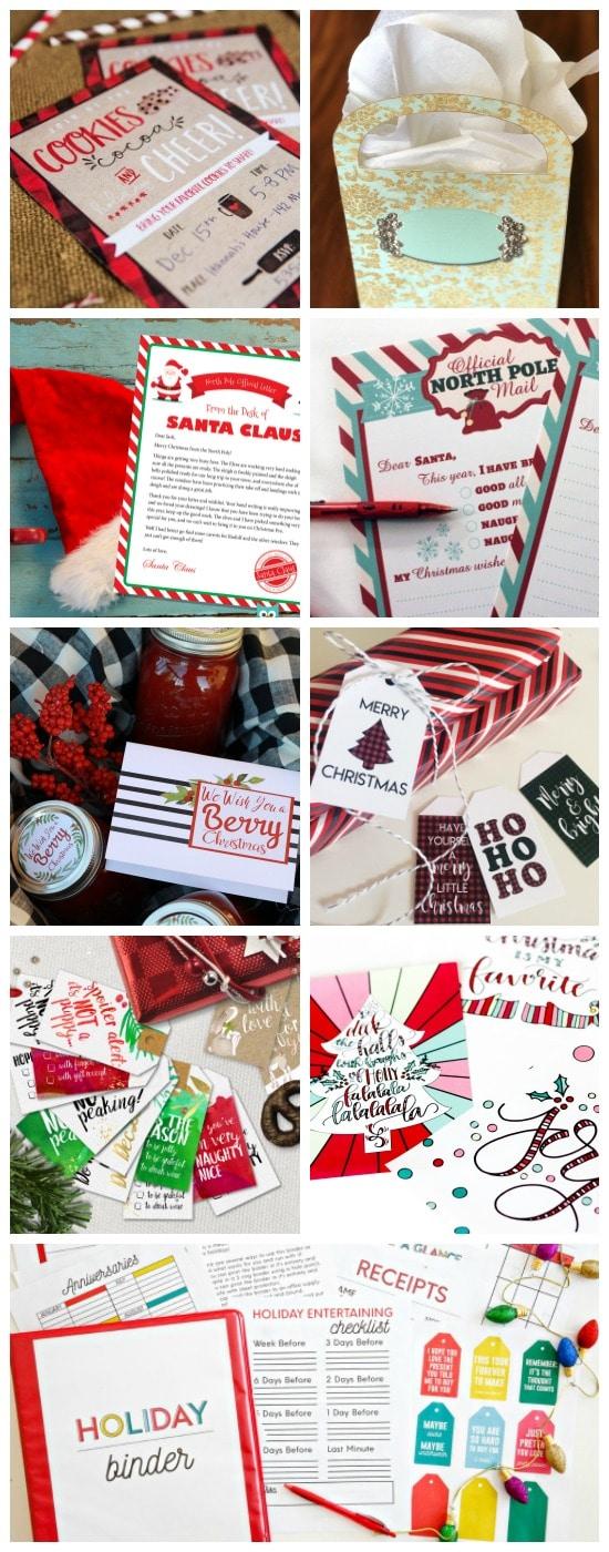Christmas Printable Bundle