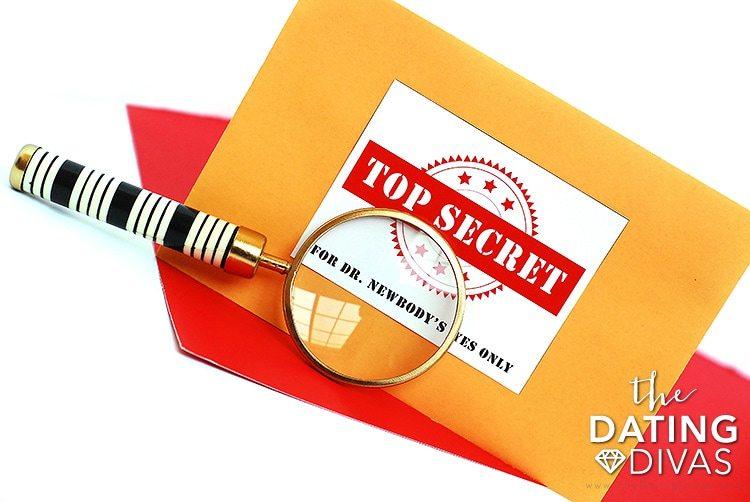 Mystery Detective Game Envelopes