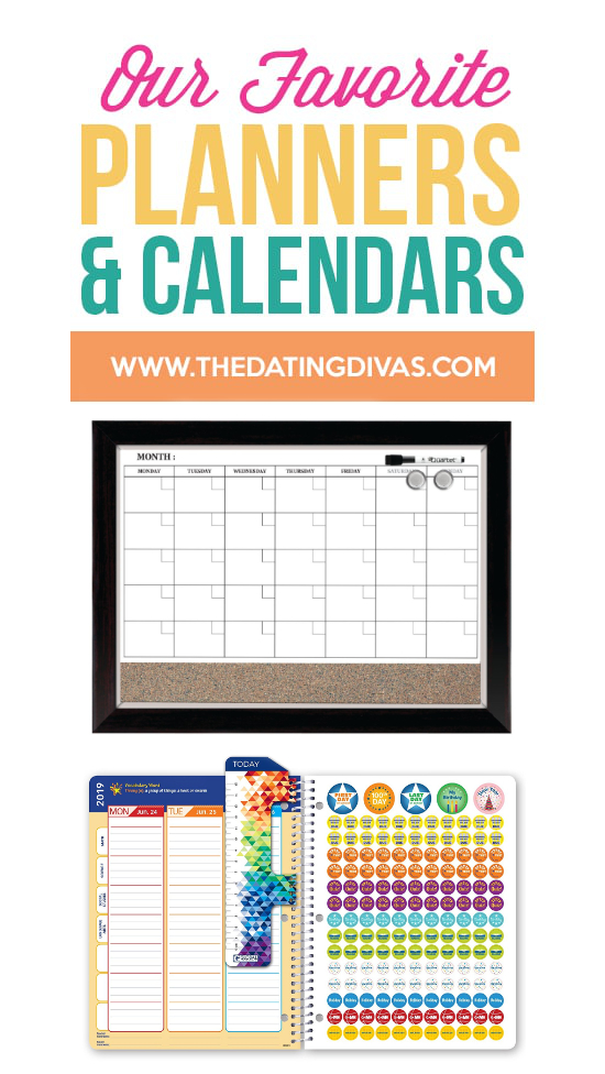 Our Favorite Planners and Calendars