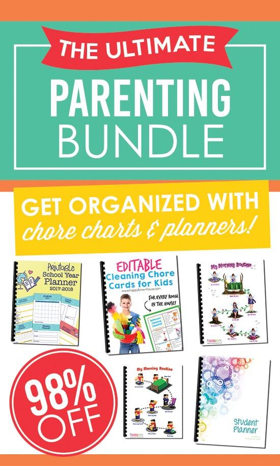 Parenting Super Bundle - Chore Charts & Planners