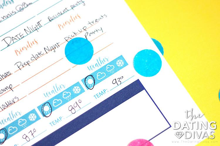 Blank Weekly Planner