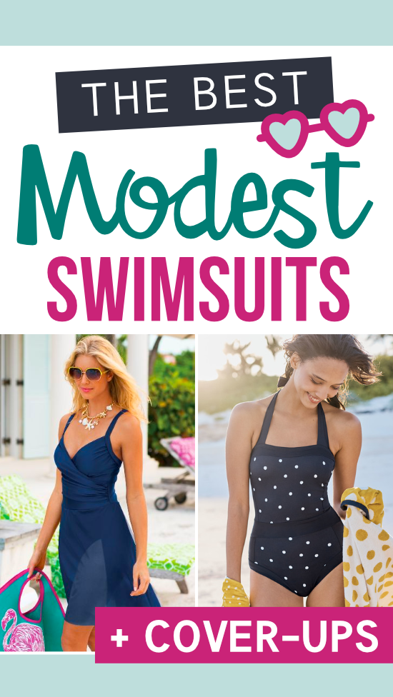 Cutest Modest Swimsuits #modestswimsuits #modestswimwear