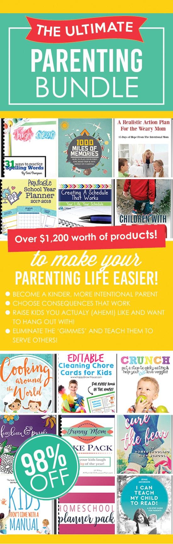 The Ultimate Parenting Super Bundle