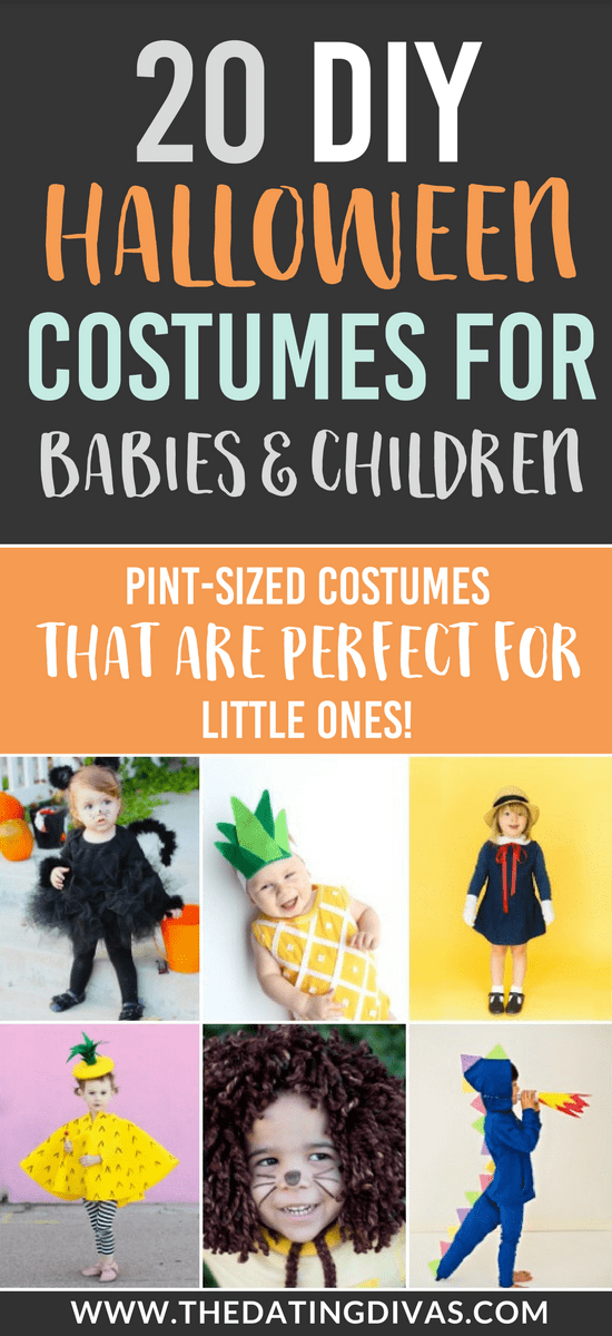 101 DIY Halloween Costumes for Babies & Children #halloweencostumes #diyhalloween