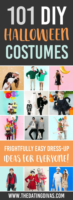101 DIY Halloween Costumes #halloweencostumes #diyhalloween
