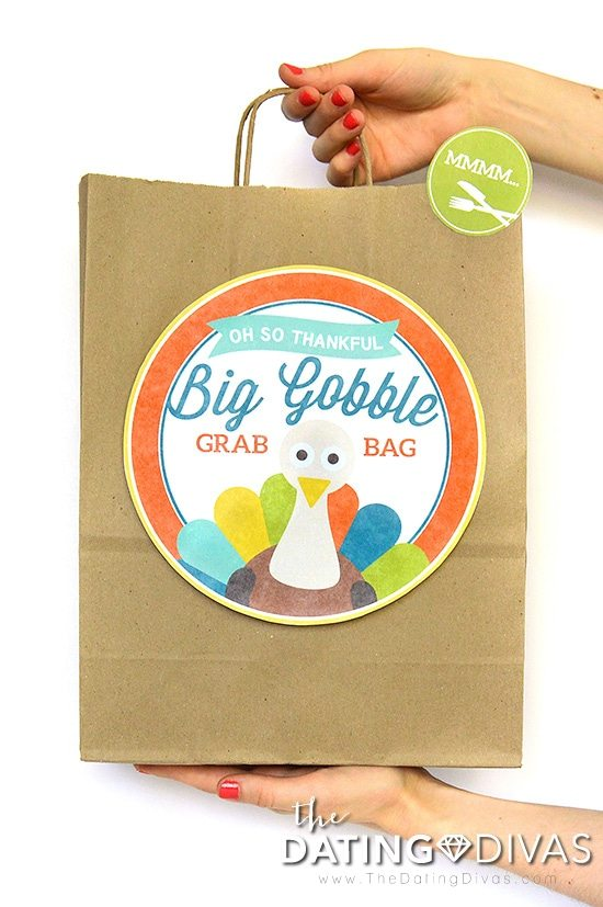 Big DIY Thanksgiving Leftover Bags