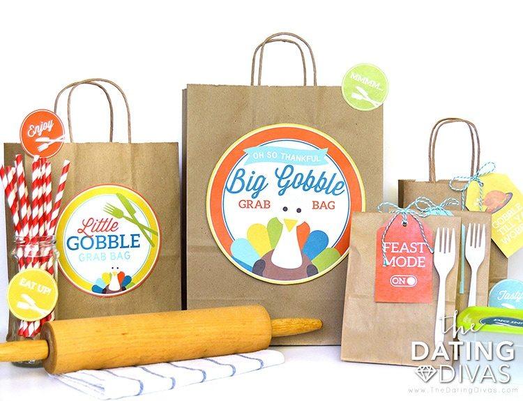 DIY Thanksgiving Leftover Bags Set