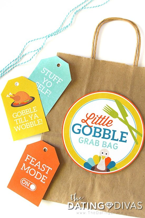 Little DIY Thanksgiving Leftover Bags