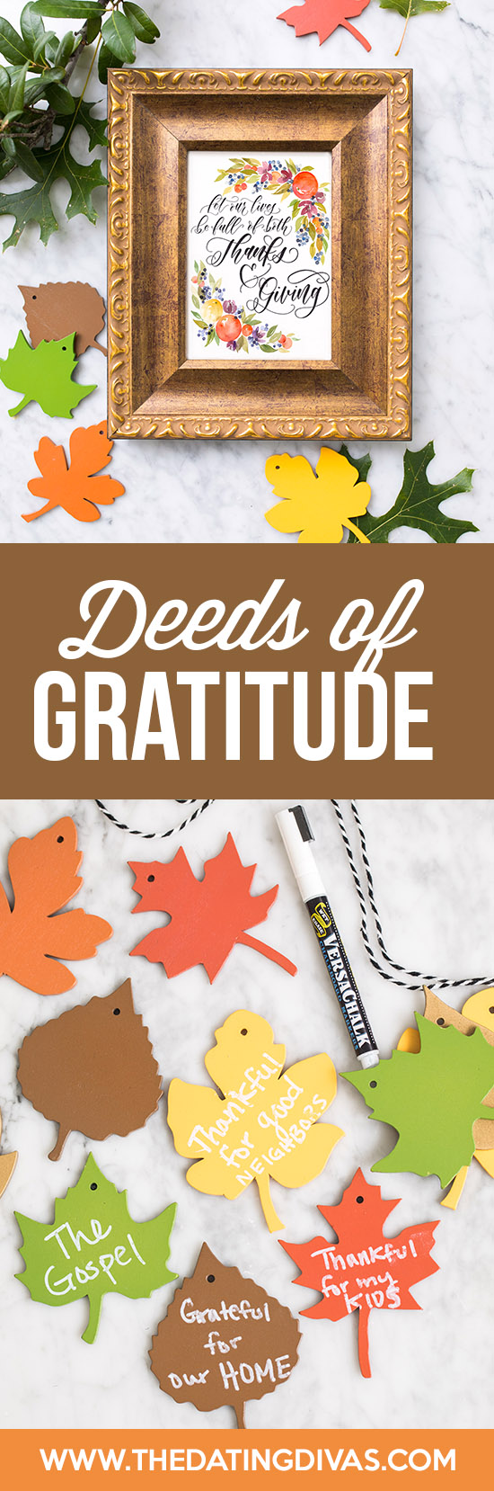 Deeds of Gratitude Thanksgiving Countdown Tradition