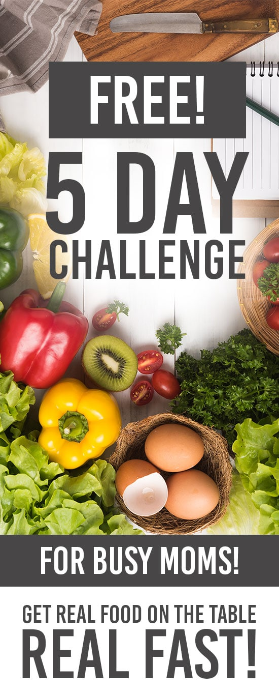 Free Healthy Eating Challenge for Busy Moms
