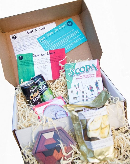 Date box subscription in Sydney