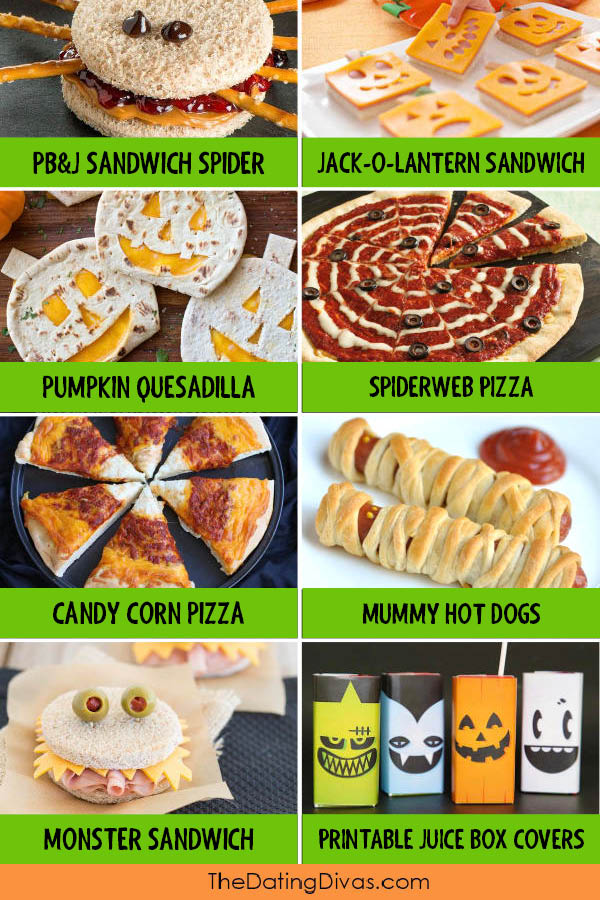 Fun Halloween Food Ideas For Every Meal From The Dating Divas