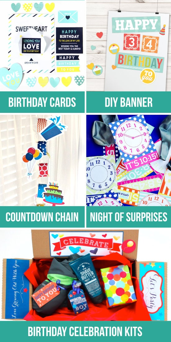Creative Birthday Ideas For Husband