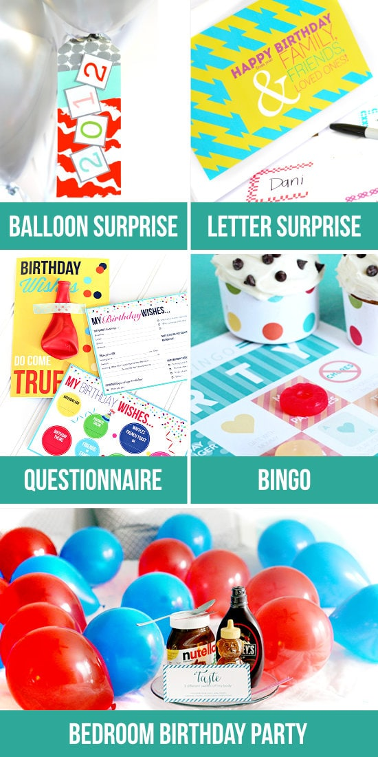 Birthday Surprises for Spouse