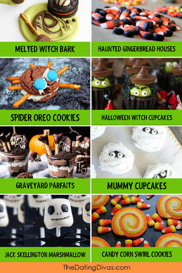 Halloween Themed Food Dessert Ideas