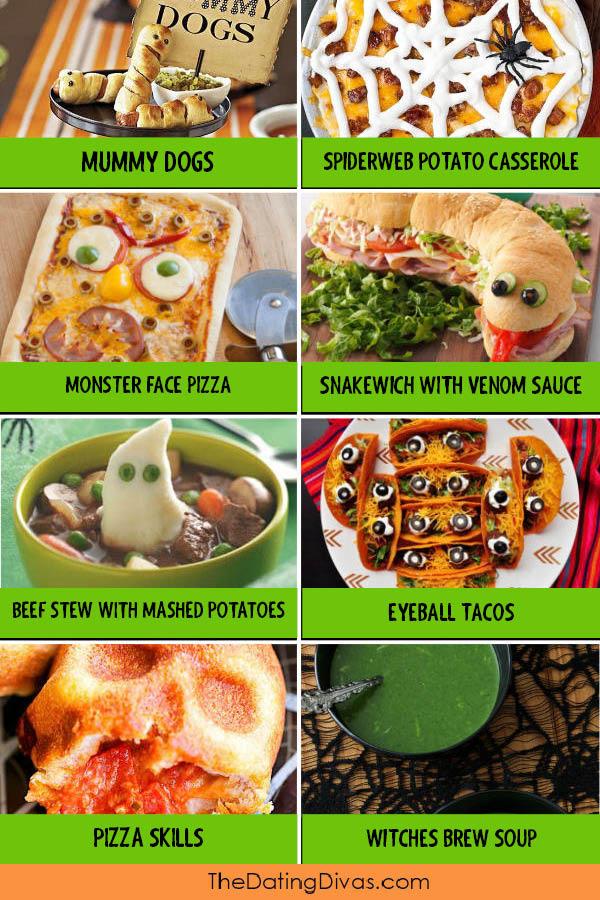 Halloween Food Ideas for Dinner