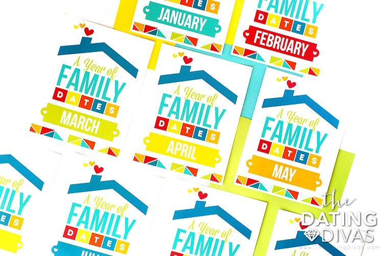 Family Date Night Binder Dividers