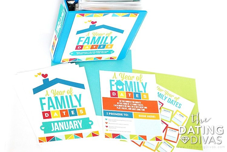 Family Date Night Binder Printable