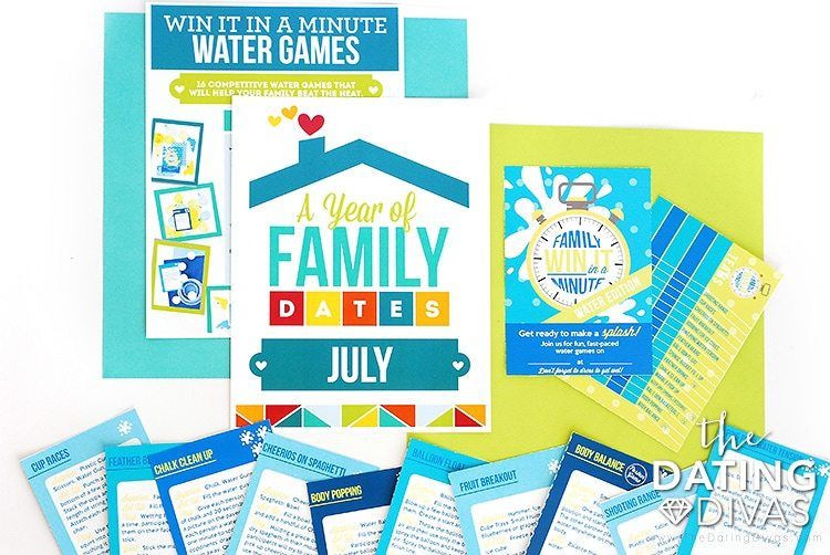 Family Date Night Water Family Activity