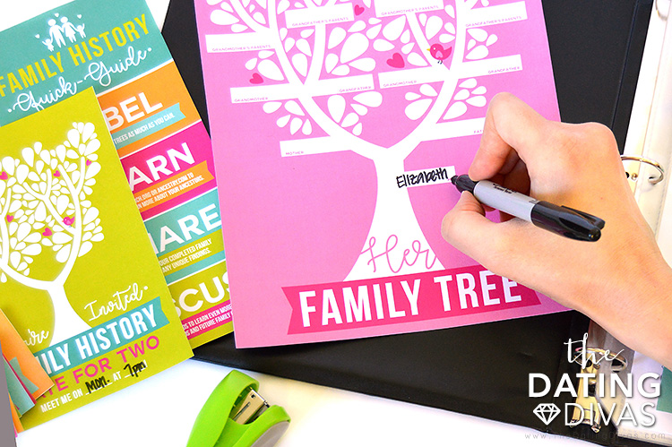 Family History Date Her Tree #familyhistory #geneology