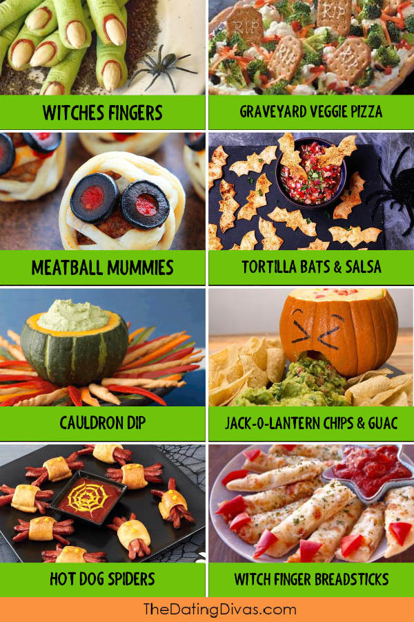 Halloween Party Food and Appetizers