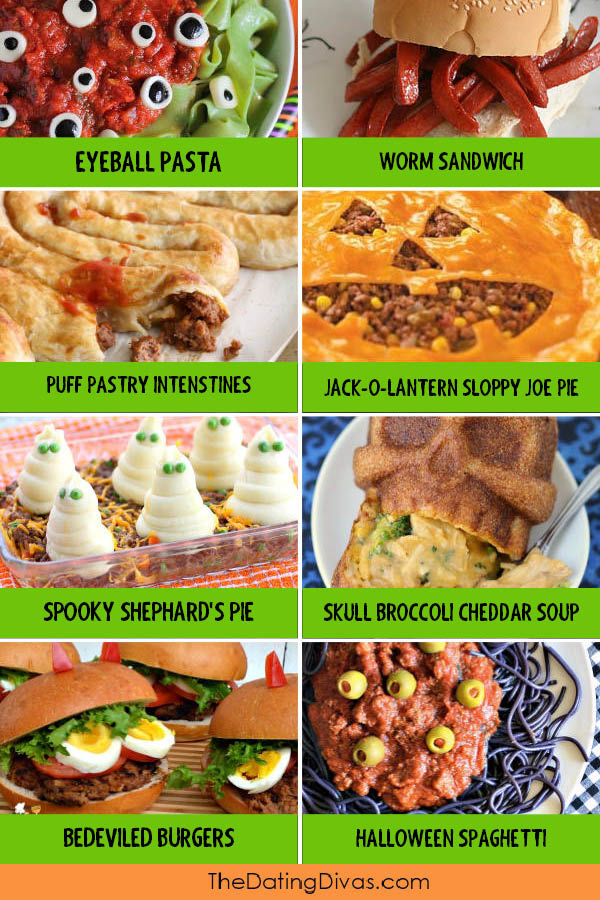 Halloween Dinner Ideas for the Family