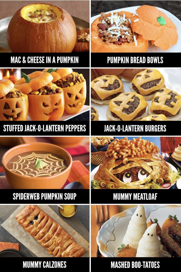 Fun Halloween Dinner Ideas