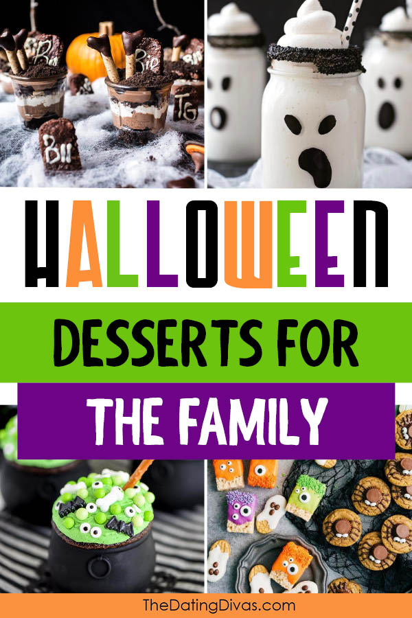 Halloween Desserts for the Family