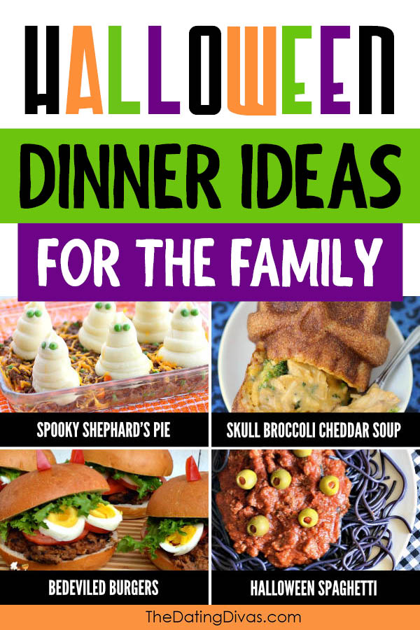Easy Halloween Dinner Ideas for Families