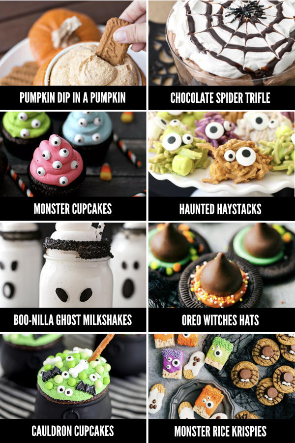 Halloween Food Ideas for Dessert