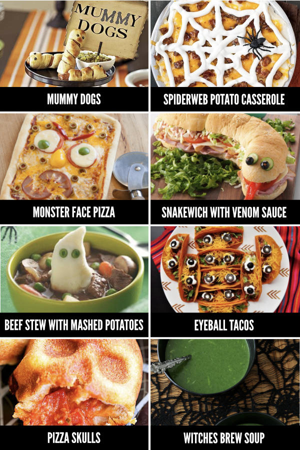Halloween Food Ideas for Dinner