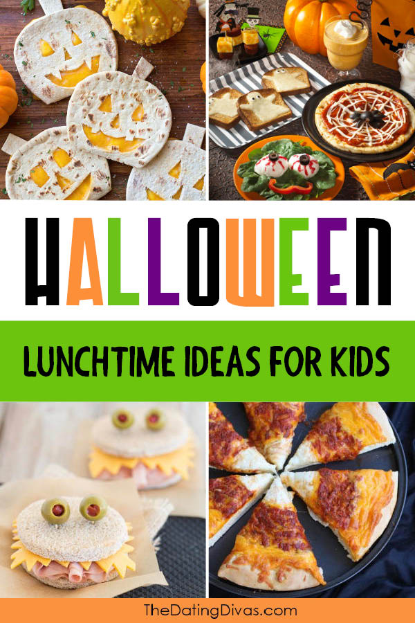 Halloween Food for Kids Lunch