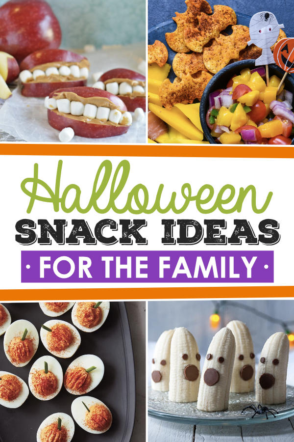 Halloween Snack Ideas for the Family