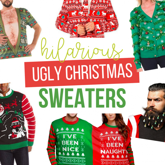 hilarious ugly christmas sweaters from the dating divas - Hilarious Ugly Christmas Sweaters