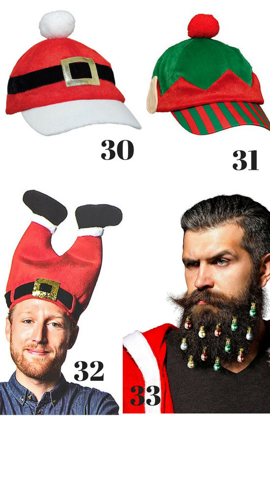 Hilarious Ugly Christmas Accessories