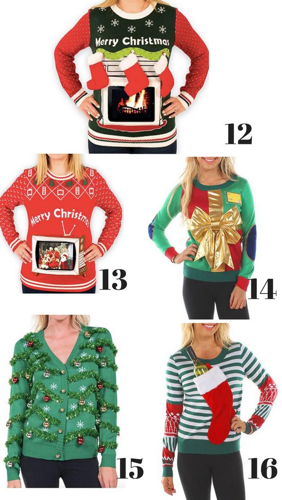 Women's Ugly Christmas Sweaters