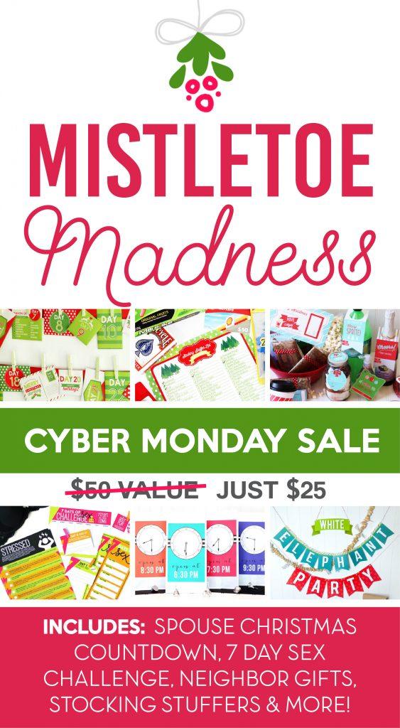 Mistletoe Madness Cyber Monday Sale #CyberMonday