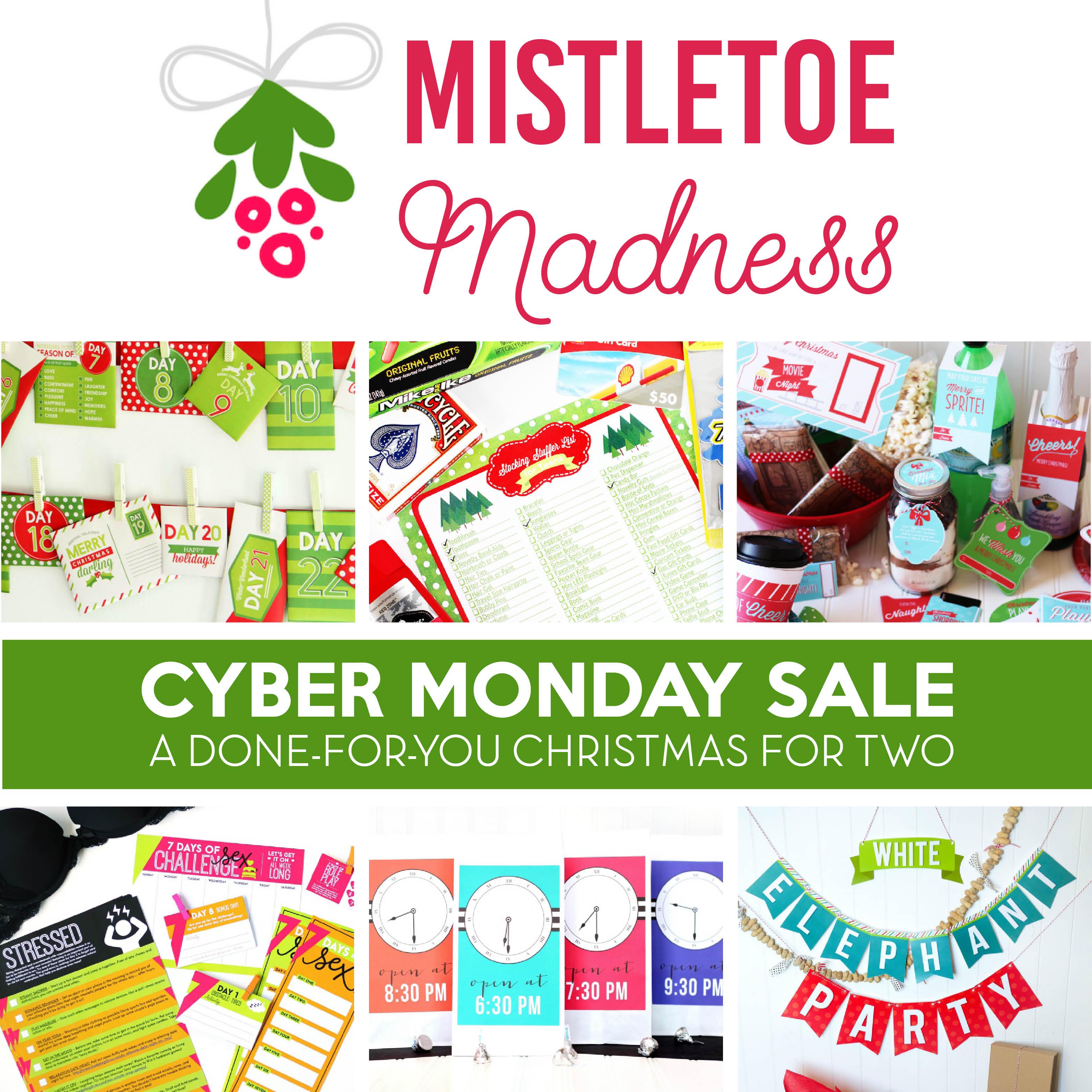 Mistletoe madness cyber monday sale the dating divas buycottarizona Image collections