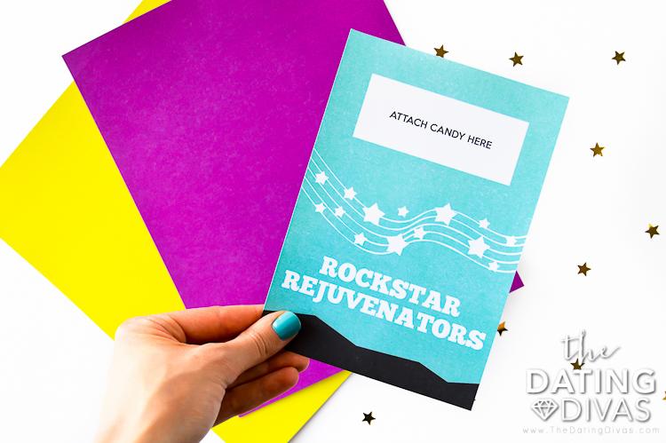 Rockstar Date Poprocks Card