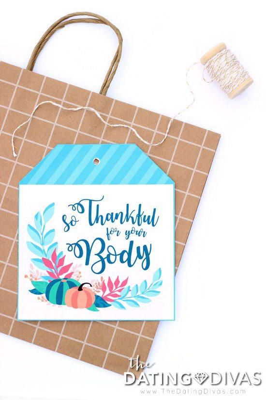 Thanksgiving Bedroom Idea in a Bag