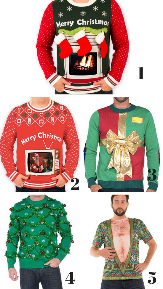 mens ugly christmas sweaters - Hilarious Ugly Christmas Sweaters