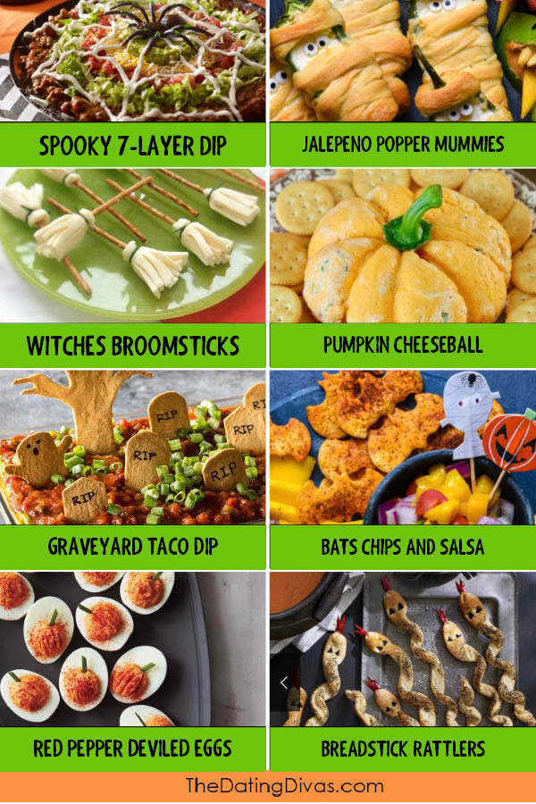Easy Halloween Themed Snack Food