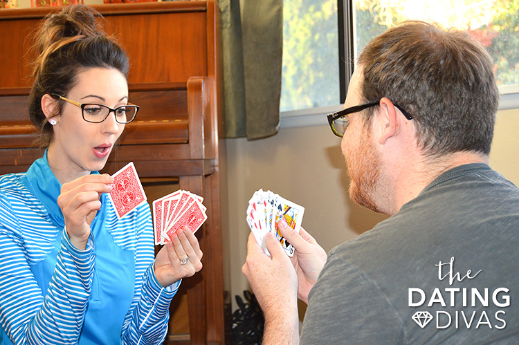 Card games for couples.