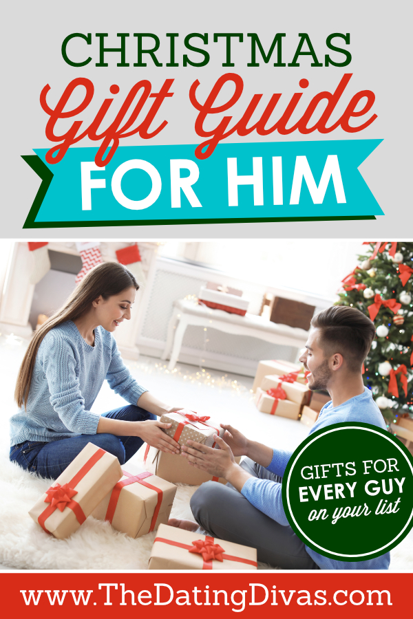 This gift guide has the best gift ideas for EVERY type of guy! Can't wait to start shopping!! #ChristmasGiftsForHim #GiftsForGuys