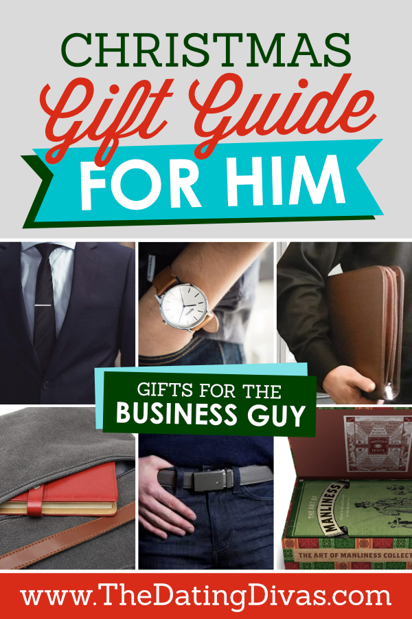 Christmas Gift Guide for the Business Guy