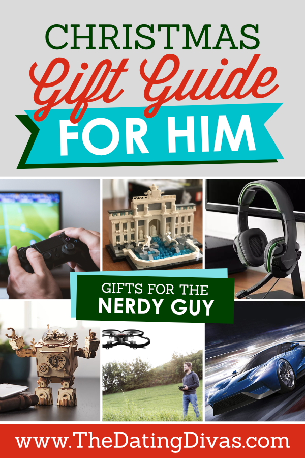 Christmas Gift Guide for the Nerdy Guy
