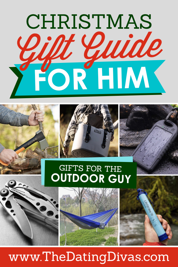 Christmas Gift Guide for the Outdoor Guy